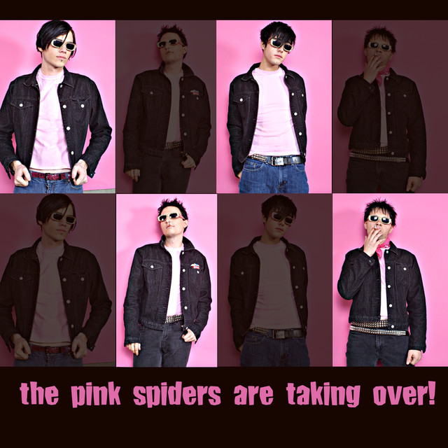 pink spiders modern swinger № 144175