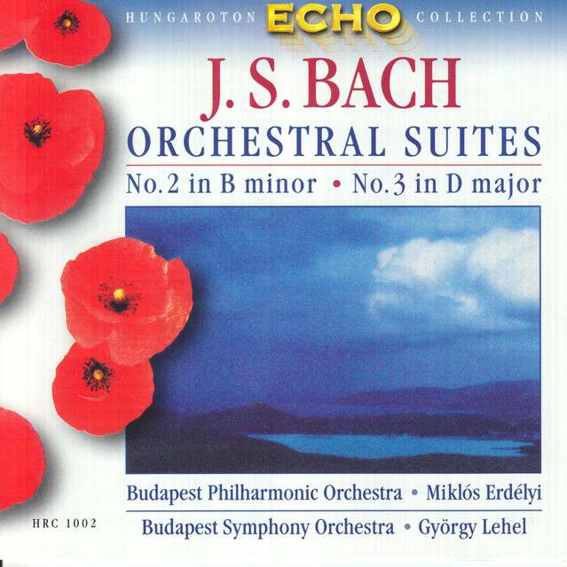 Bach, J.S.: Orchestral Suites Nos. 2 and 3 Albumcover