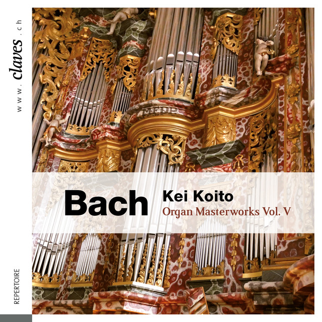 Bach: Organ Masterworks, Vol. V Albumcover