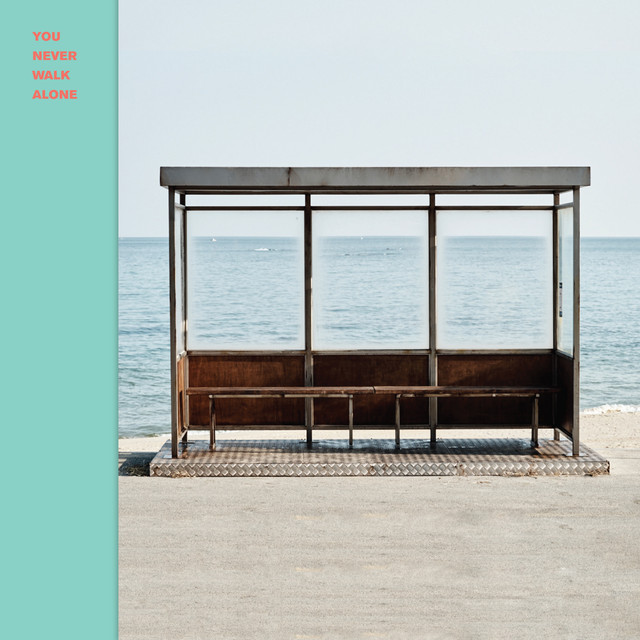 Album cover for YOU NEVER WALK ALONE by BTS