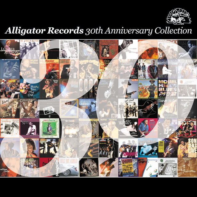 Various Artists The Alligator Records 30th Anniversary Collection album cover