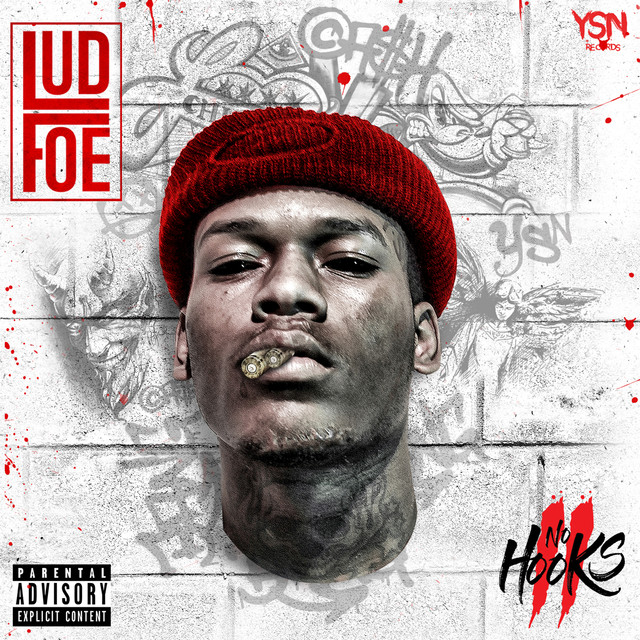Album cover for No Hooks II by Lud Foe