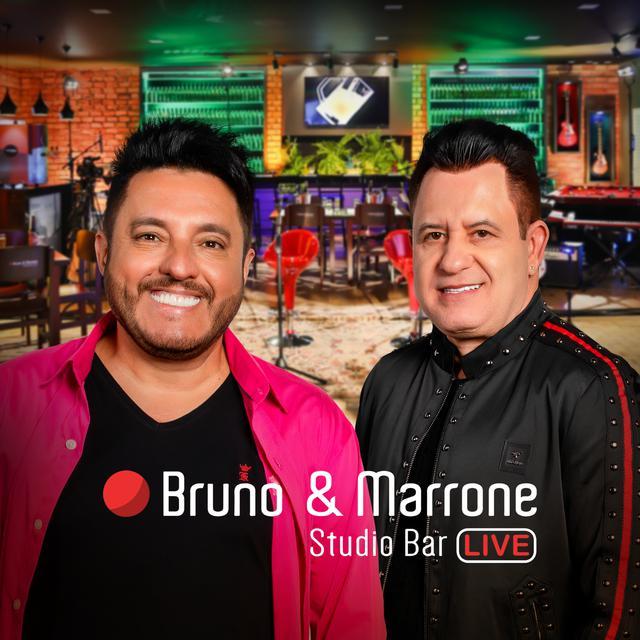 Album cover for Studio Bar (Ao Vivo) by Bruno & Marrone
