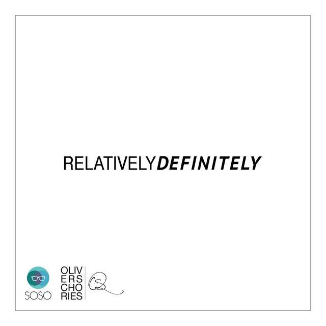 Album cover for Relatively Definitely by Oliver Schories