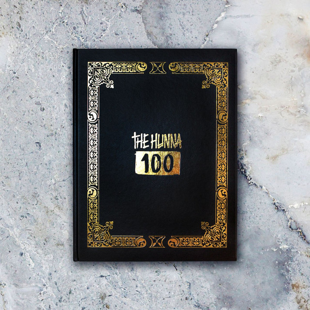 Album cover for 100 by The Hunna