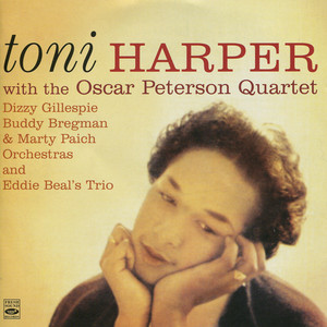 Toni Harper, Oscar Peterson Quartet I Could Write a Book cover