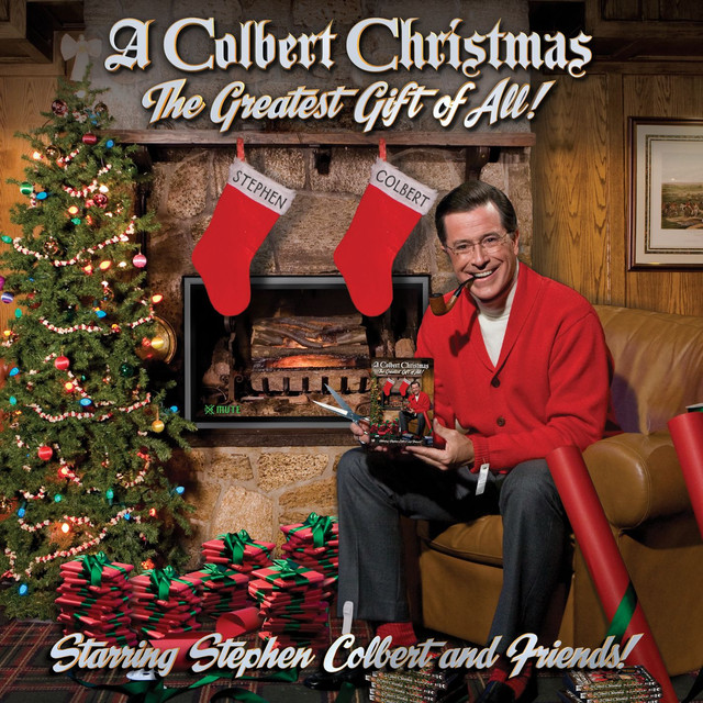 Stephen Colbert A Colbert Christmas: The Greatest Gift of All! album cover