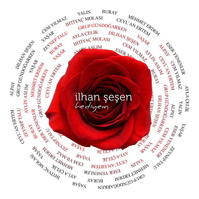Album cover for İlhan Şeşen: Hediyem by Various Artists