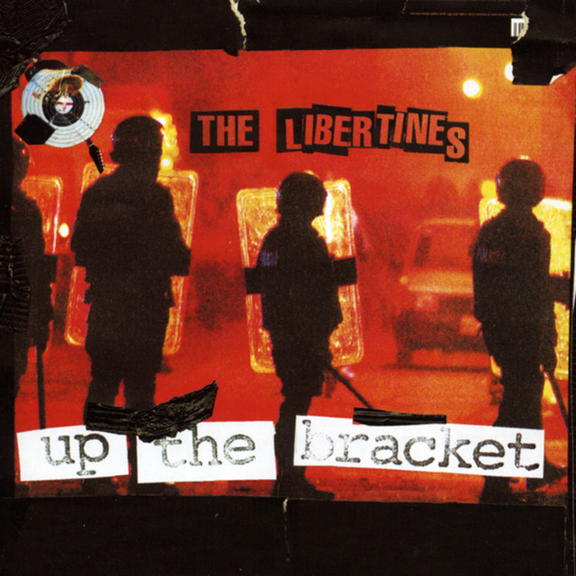 Album cover for Up The Bracket by The Libertines