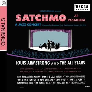 Satchmo At Pasadena Albümü