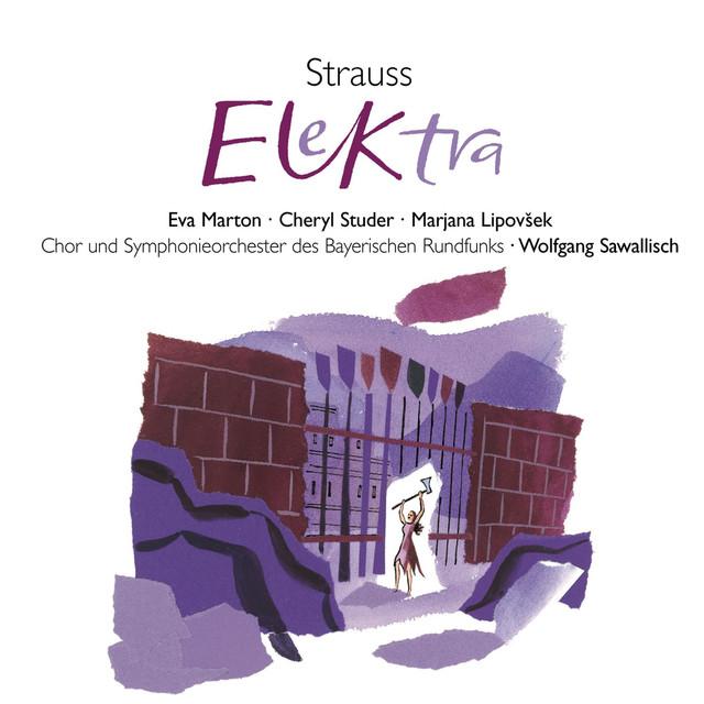 R. Strauss: Elektra Albumcover