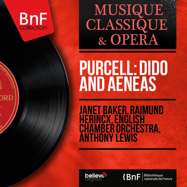 Purcell: Dido and Aeneas (Stereo Version) Albumcover