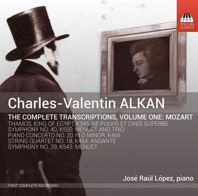 Alkan: The Complete Transcriptions, Vol. 1, Mozart Albumcover