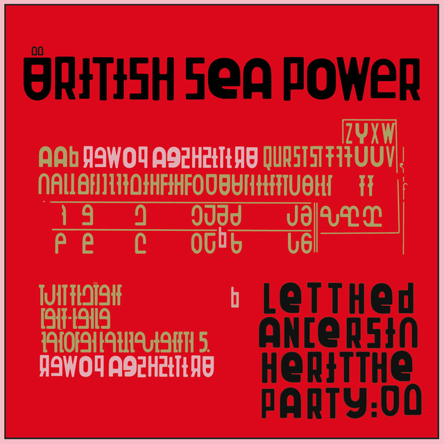 Album cover for Let The Dancers Inherit The Party by British Sea Power