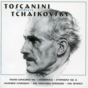 Toscanini Conducts Tchaikovsky (1941-1944) Albumcover
