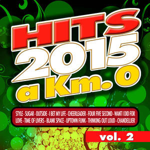 Hits 2015 a Km 0 - Vol. 2 Albumcover