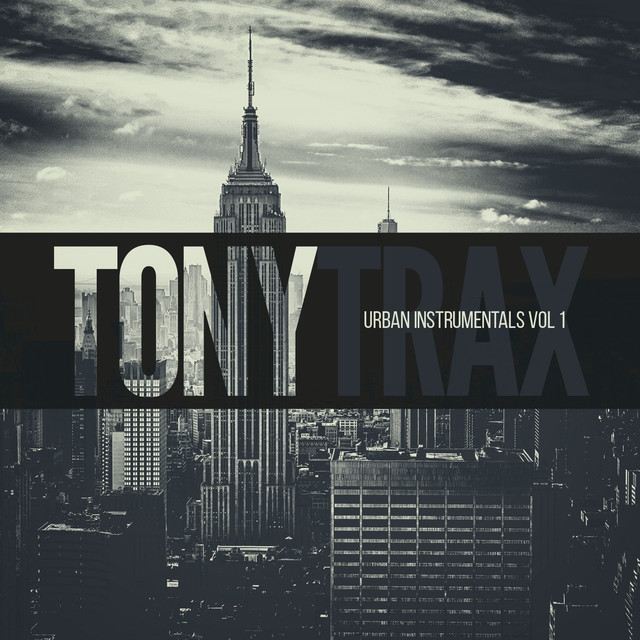 Album cover for Urban Instrumentals (volume 1) by Tony Trax