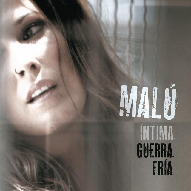Malú Intima guerra fria album cover