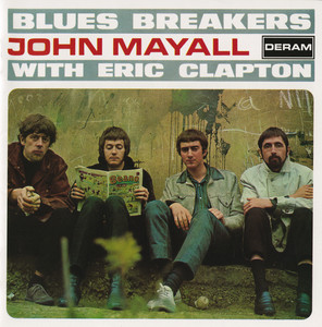 John Mayall & The Bluesbreakers, Jimmy Page, Eric Clapton, The Yardbirds Talkin' About You cover
