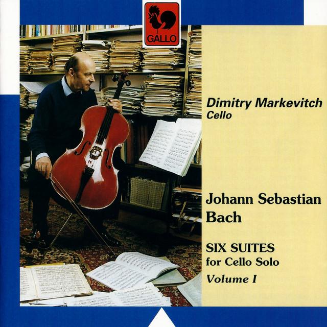 Bach: 6 Suites for Solo Cello, Vol. 1 Albumcover