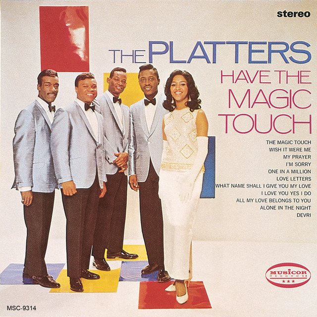 The Platters Have The Magic Touch album cover
