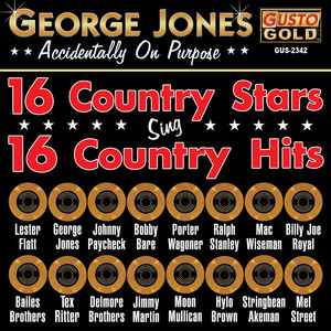 George Jones - Accidentally On Purpose - 16 Country Stars Sing 16 Country Hits