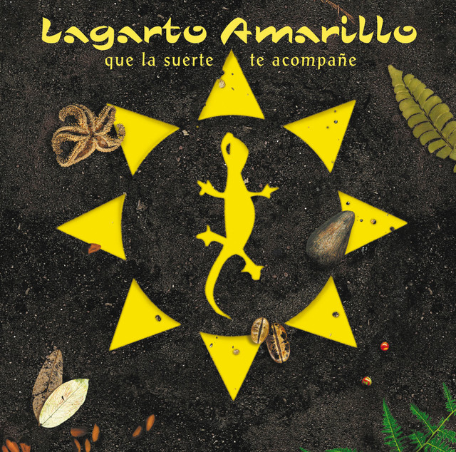 Lagarto Amarillo Que la suerte te acompañe album cover
