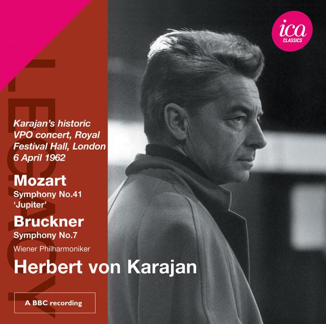 Karajan's historic VPO concert Albumcover
