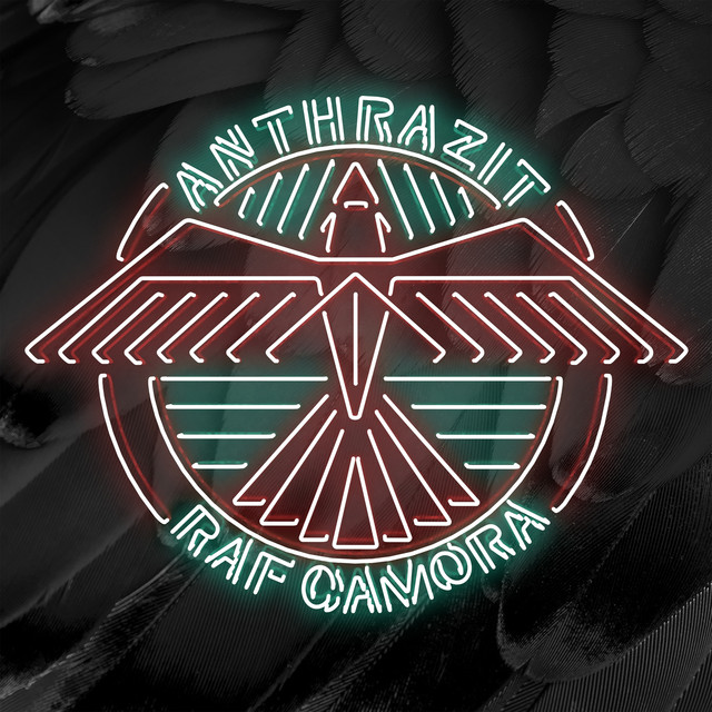 Album cover for Anthrazit by RAF Camora