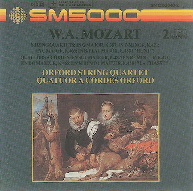 Mozart: String Quartets Nos. 14, 15, 17, and 19 Albumcover