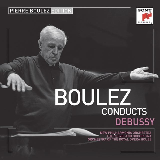 Pierre Boulez Edition: Debussy Albumcover
