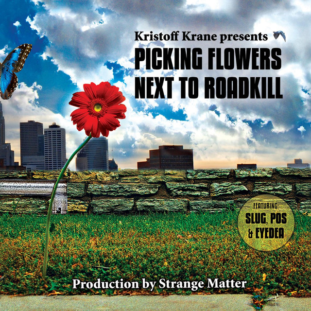 Picking Flowers Next To Roadkill