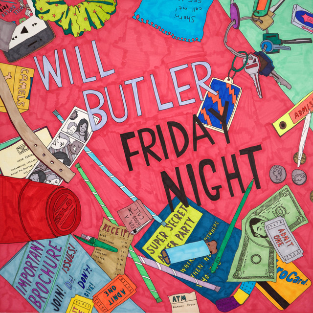 Album cover for Friday Night by Will Butler