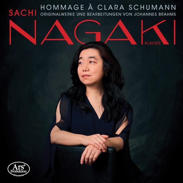 Album cover for Hommage à Clara Schumann by Johannes Brahms, Sachi Nagaki