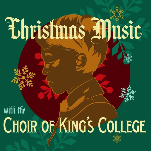 Album cover for Christmas Music with the Choir of King's College by Choir of King's College, Cambridge