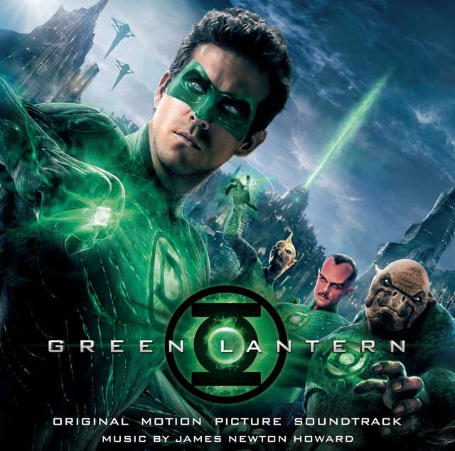 Green Lantern Albumcover