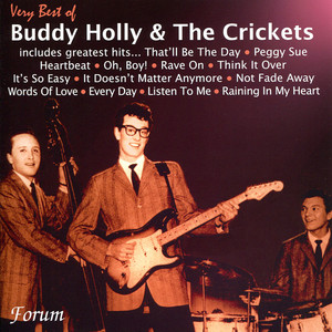 Buddy Holly, The Crickets Raining in My Heart cover