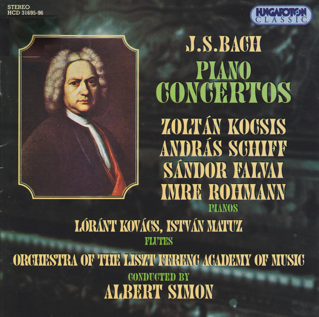 Bach, J.S.: Keyboard Concertos Albumcover