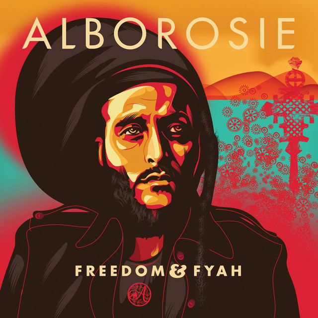 Album cover for Freedom & Fyah by Alborosie