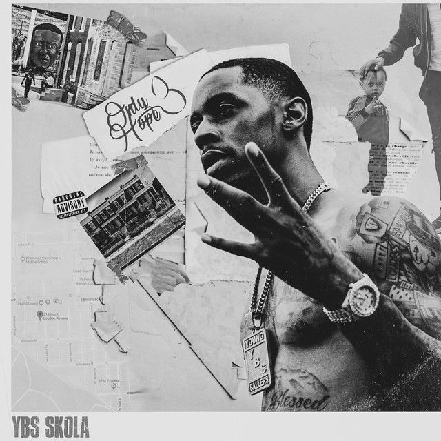 Album cover for Only Hope 3 by Ybs Skola