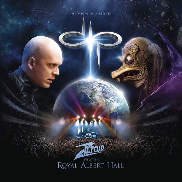Devin Townsend Presents: Ziltoid Live at the Royal Albert Hall Albumcover