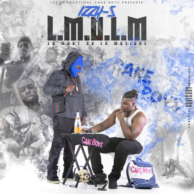 Album cover for L.M.O.L.M by Izzy-S