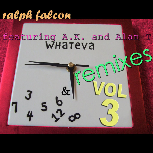 Ralph Falcon Whateva Remixes Vol 3 album cover