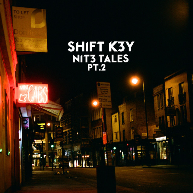 Album cover for NIT3 TALES, Pt. 2 by Shift K3Y