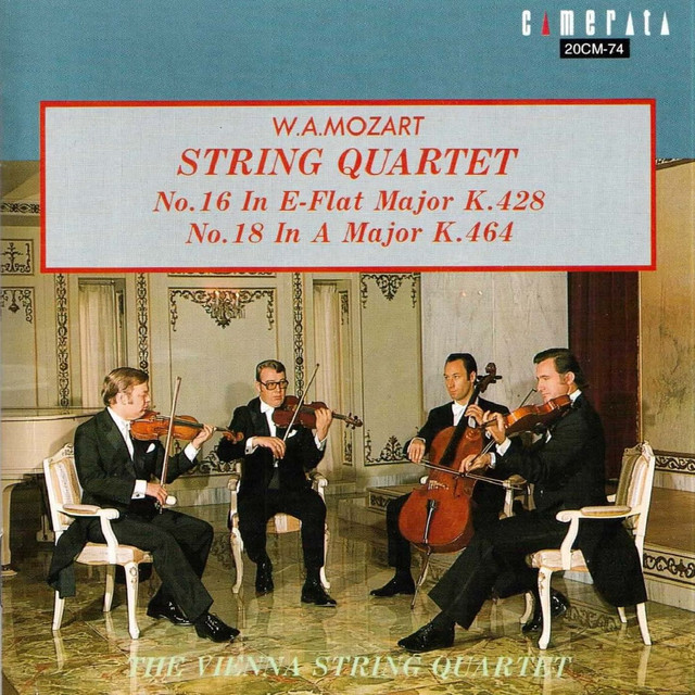Mozart: String Quartet Nos  16 & 18 by Wolfgang Amadeus Mozart on