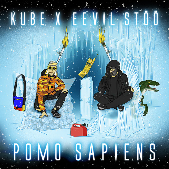 Album cover for Pomo Sapiens - EP by Kube, Eevil Stöö