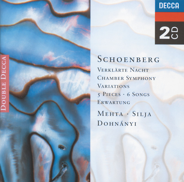 Schoenberg: 5 Pieces for Orchestra/Chamber Symphony etc. Albumcover