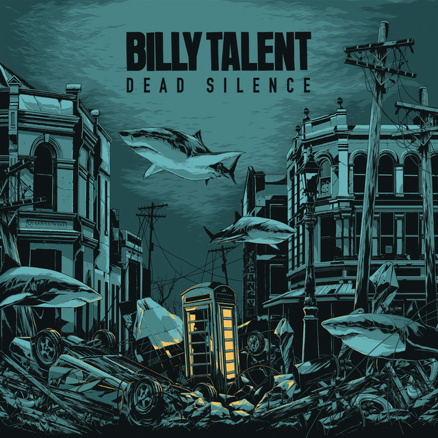 Billy Talent Dead Silence album cover