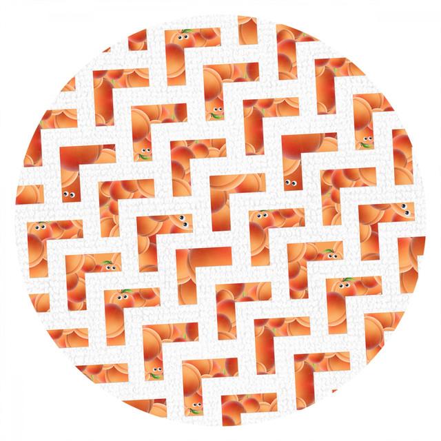 Album cover for Peach by Robosonic, Jan Weigel