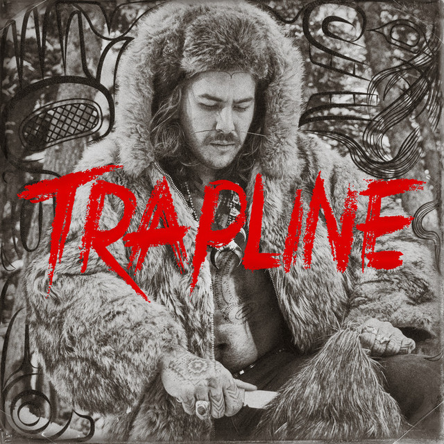 Album cover for TRAPLINE by Snotty Nose Rez Kids